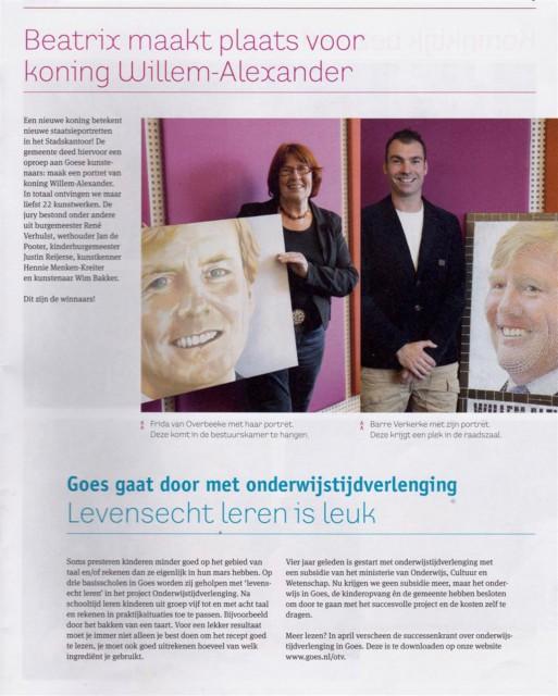 27 - Willem Alexander Portret